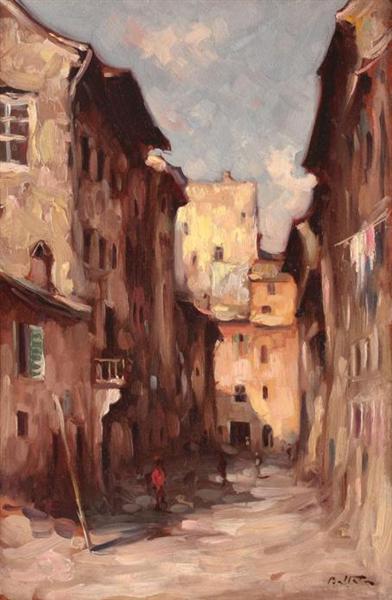Venice Alleyways - Adam Baltatu