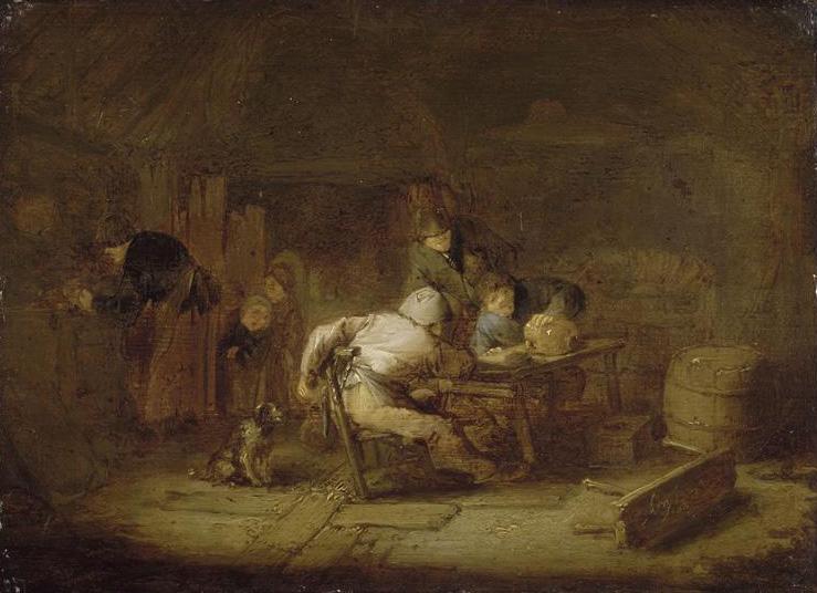 Interior of a Tavern, 1636 - Adriaen van Ostade