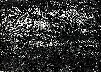 Le Geomètre - impression de relief, 1967 - Adrien Dax