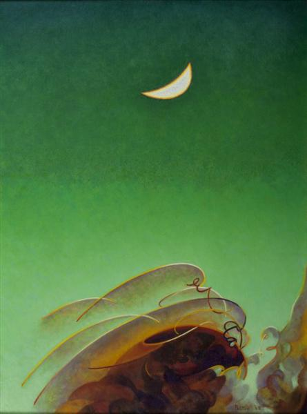 Spring Moon - Agnes Lawrence Pelton