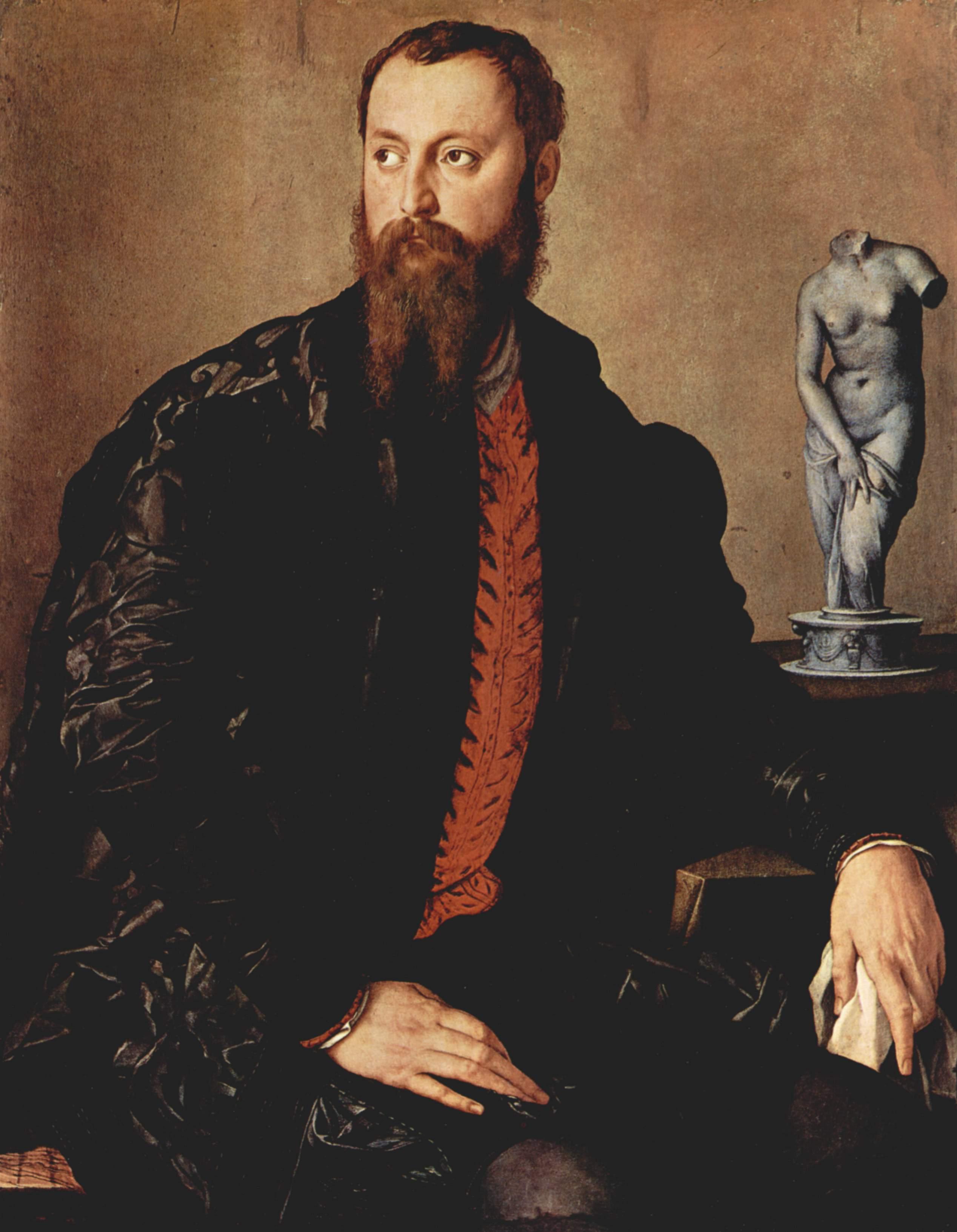 Portrait of a gentleman, 1552