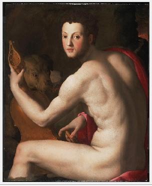 Portrait of Cosimo I de' Medici as Orpheus, 1538