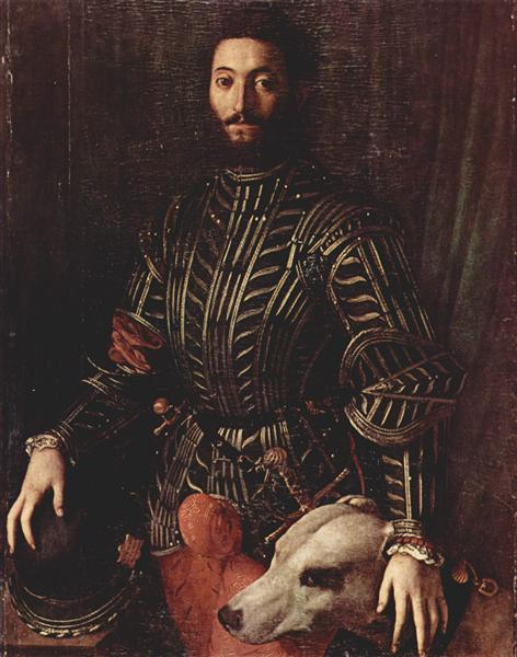 Portrait of Guidubaldo della Rovere - Agnolo Bronzino