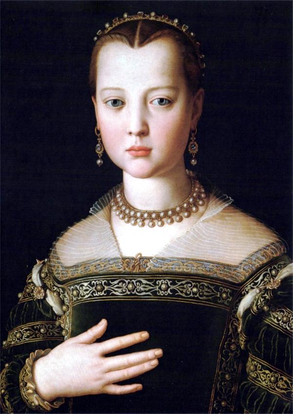 Portrait of Maria de' Medici, 1553