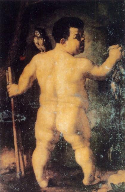 Portrait of Nano Morgante, 1552