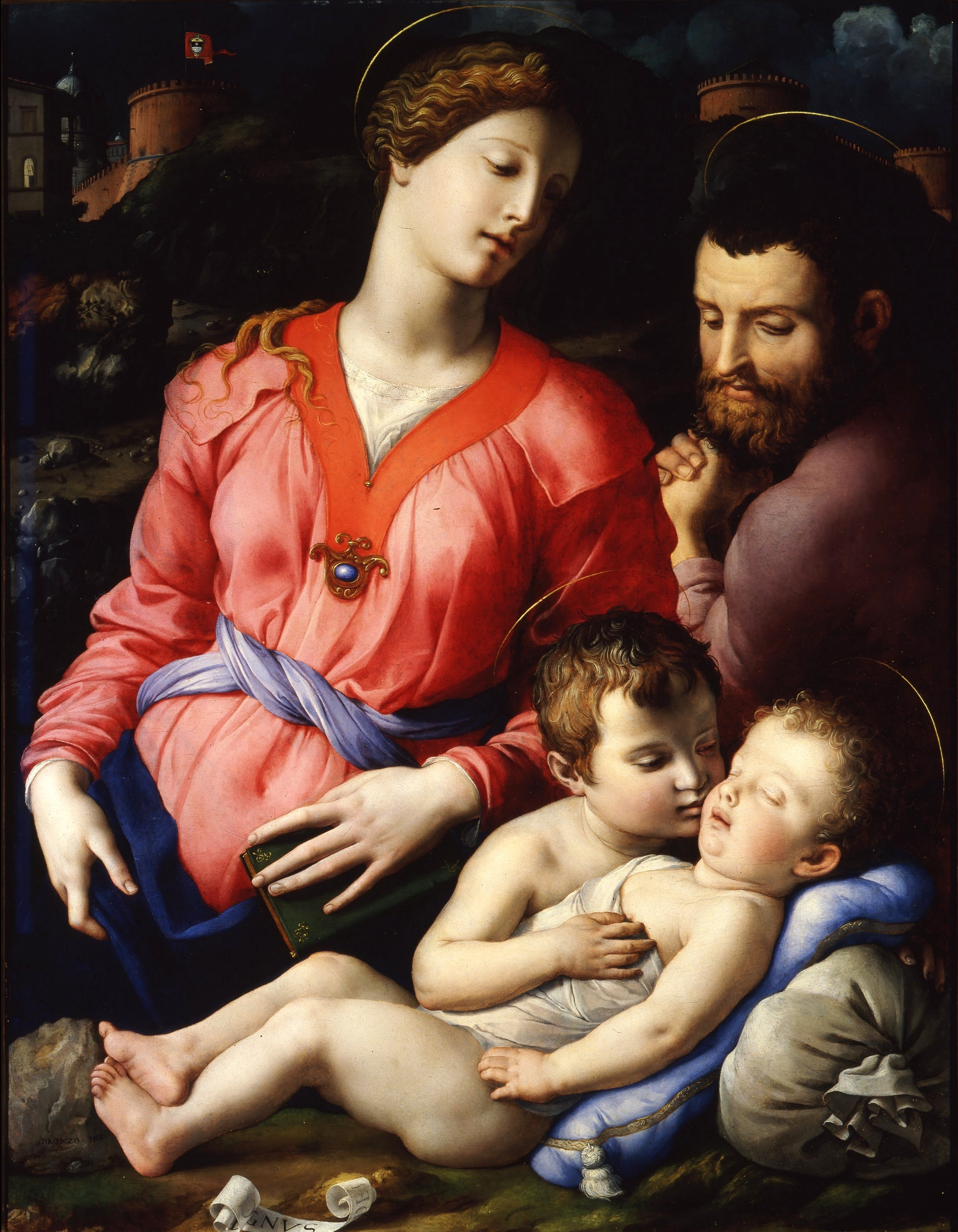 The Panciatichi Holy Family, 1540