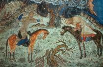 Rustam kills Istendiyar - Ahmad Musa