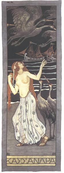 Cassandra, 1908 - Aladar Korosfoi-Kriesch