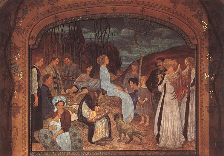 Székely Folk Tales, 1912 - Aladar Korosfoi-Kriesch