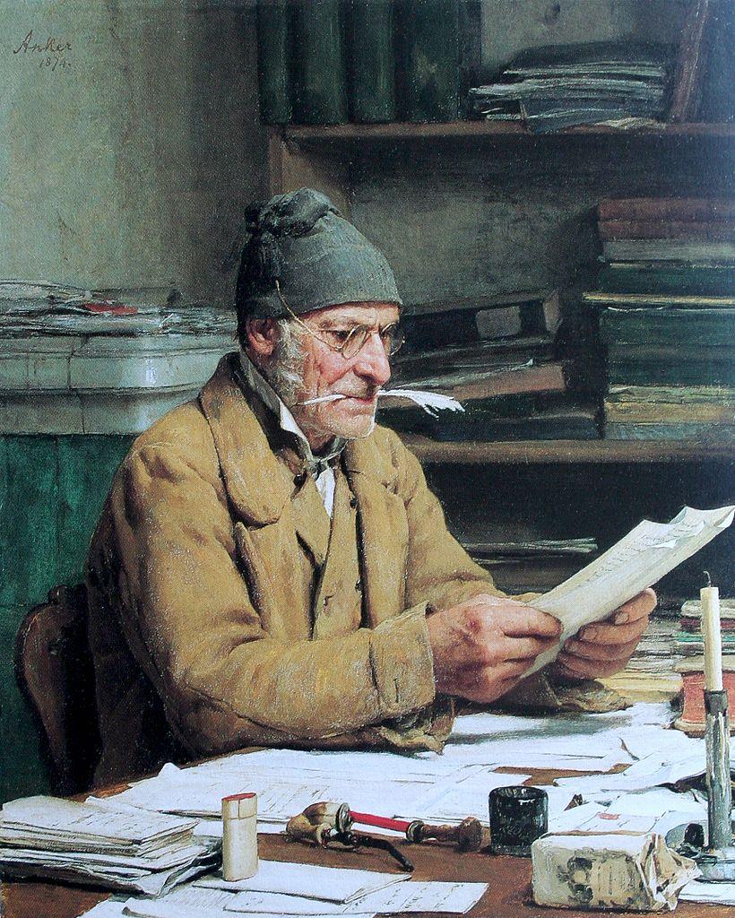 Der Gemeindeschreiber, 1874