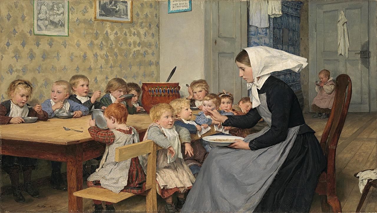 The Crèche I, 1890