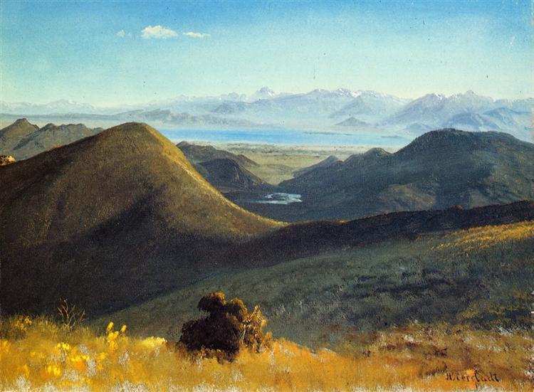 Mono Lake, Sierra Nevada, California, 1872 - Albert Bierstadt