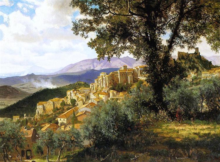 Olevano, 1857 - Альберт Бірштадт