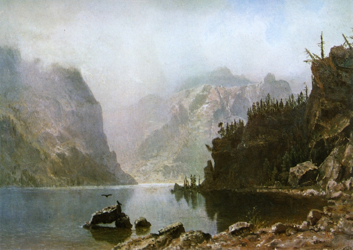 Western Landscape, 1880 - Albert Bierstadt