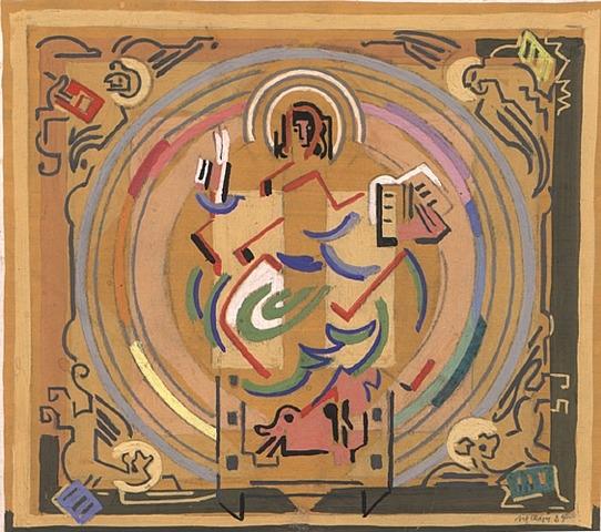 Matière et Lumière ou le Christ au Tétramorphe, 1934 - Albert Gleizes