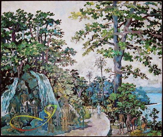 Roselle Waterfalls - Albert Huie