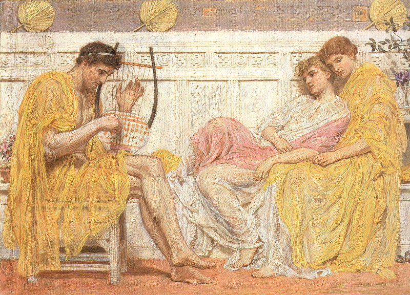 Image result for A Musician (1867)
