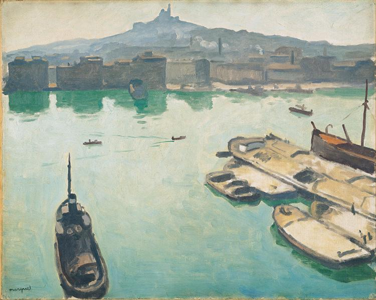 Port of Marseilles, 1916 - Albert Marquet