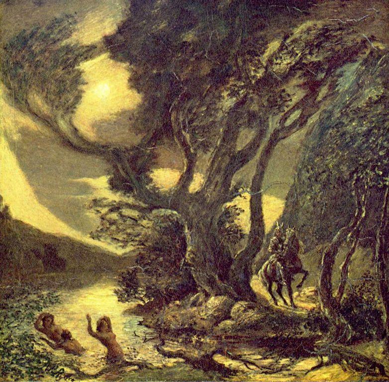 Siegfried and the Rhine Maidens, 1888-1891