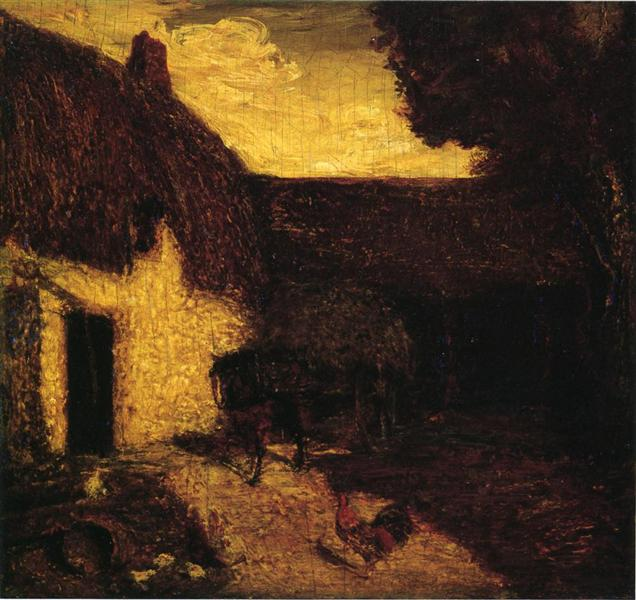 The Barnyard - Albert Pinkham Ryder