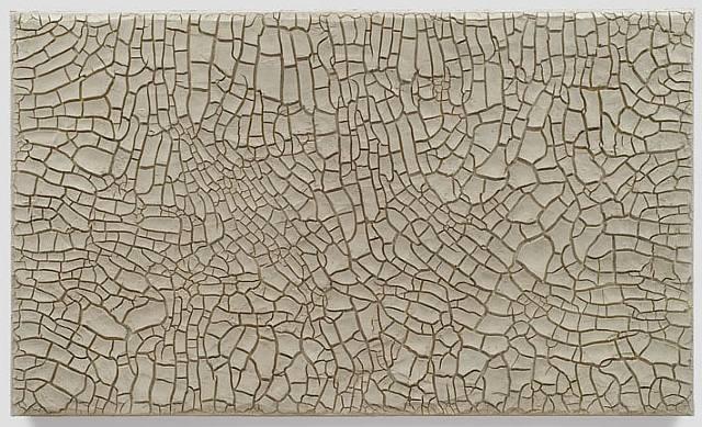 Cretto Grande Bianco, 1982 - Alberto Burri