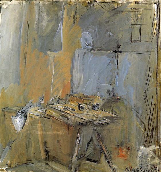 Studio - Alberto Giacometti