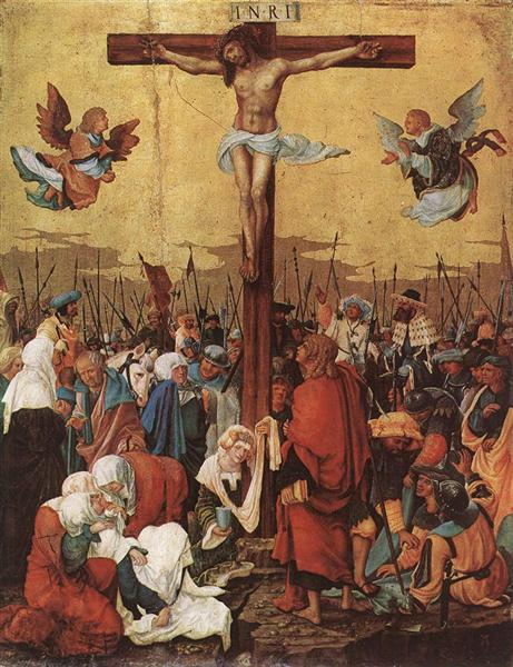 Christ on the Cross, c.1520 - Albrecht Altdorfer