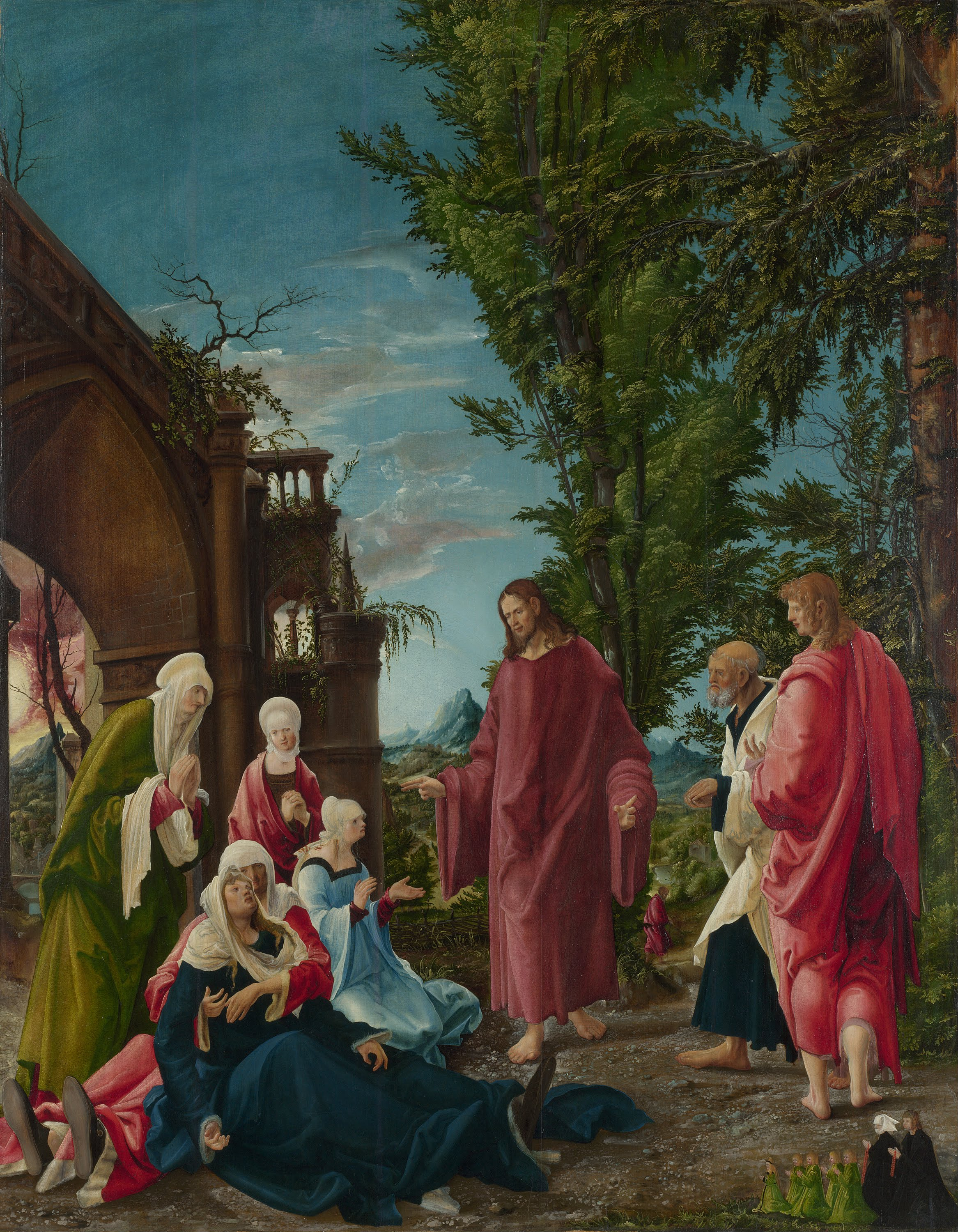 Christ taking Leave of his Mother, 1520