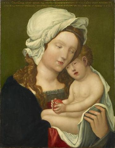 Mary with child, 1531 - Albrecht Altdorfer