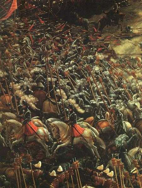 The battle of Issus (fragment), 1529 - Albrecht Altdorfer