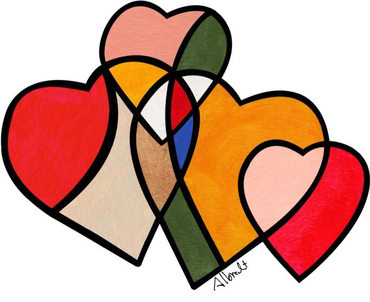 Hearts, 2013 - Albrecht Behmel