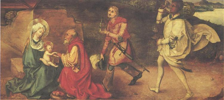 Adoration of kings, c.1490 - 1493 - Albrecht Durer