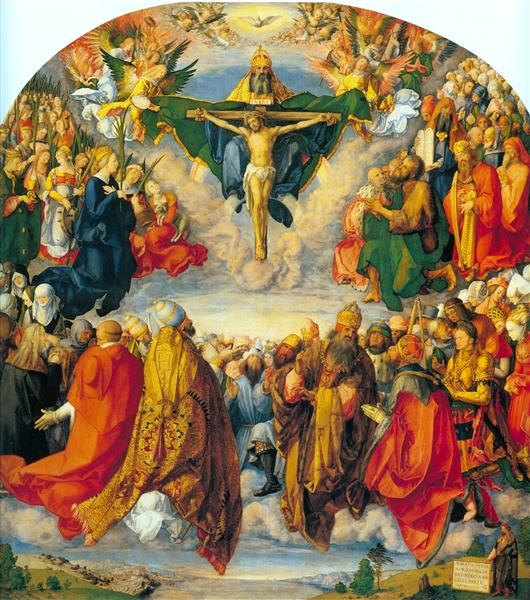 All Saints picture, 1511 - Albrecht Durer
