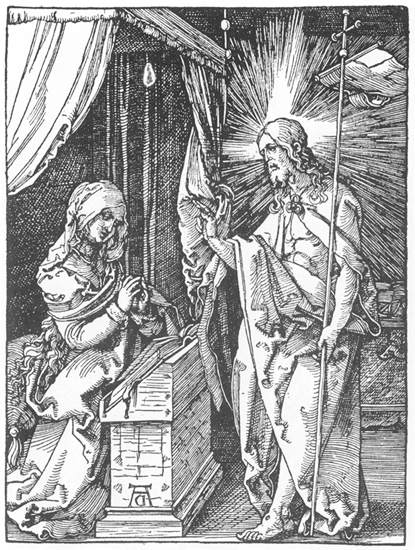 Christ Appears to His Mother, 1511 - Albrecht Durer
