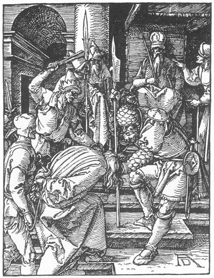 Christ before Annas, 1511 - Albrecht Durer