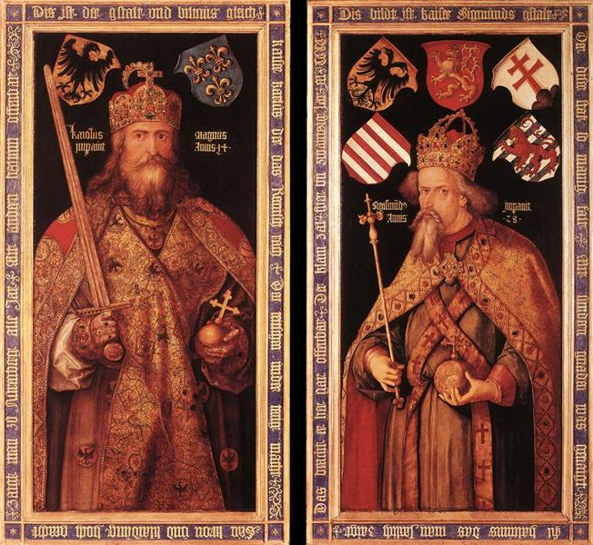 Emperor Charlemagne and Empero...