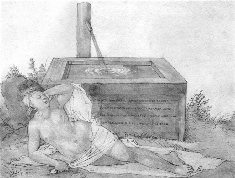 Nymph, 1514 - Albrecht Dürer