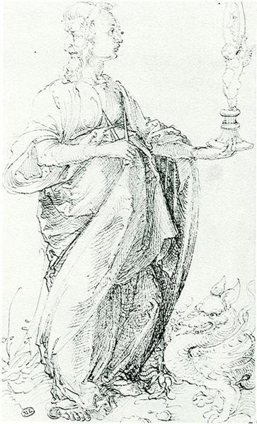 Prudentia, 1494 - Albrecht Durer
