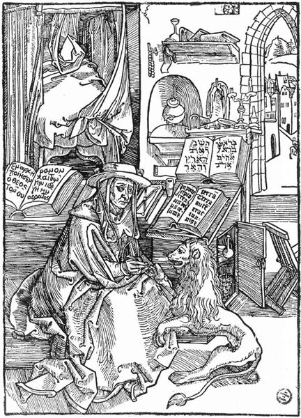 St Jerome, 1492 - Albrecht Durer