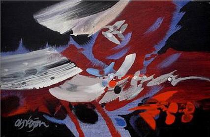 Vientos, 1989 - Alejandro Obregon