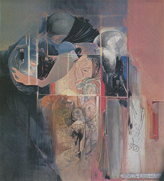 Leave all hope, 1973 - Alekos Kontopoulos