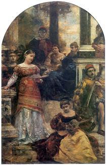 Sjesta włoska - Aleksander Gierymski