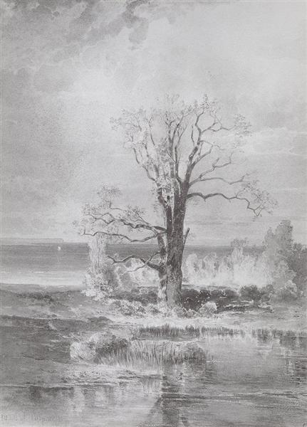 Autumn Landscape, 1877 - Alexei Kondratjewitsch Sawrassow