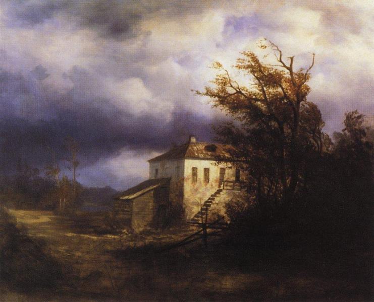 Before the Storm, 1850 - Aleksey Savrasov