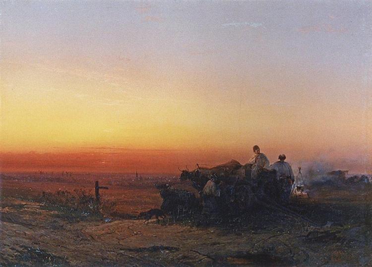 Chumaky, 1854 - Aleksey Savrasov