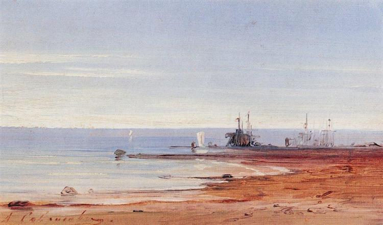 Sea, c.1860 - Aleksey Savrasov