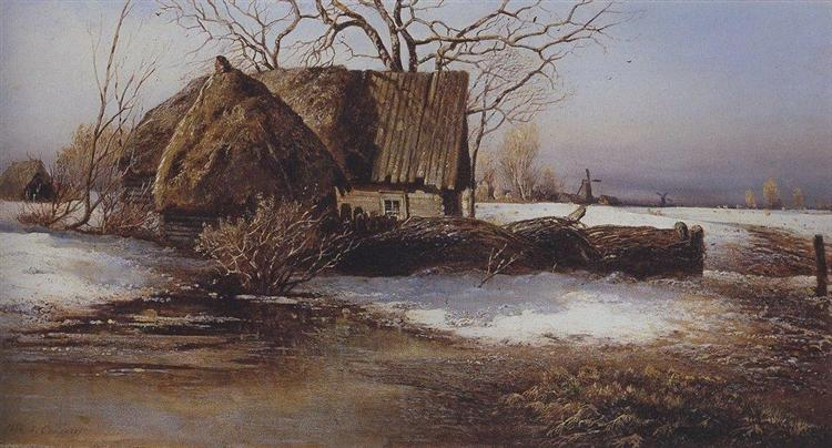 Spring is coming, 1874 - Aleksey Savrasov