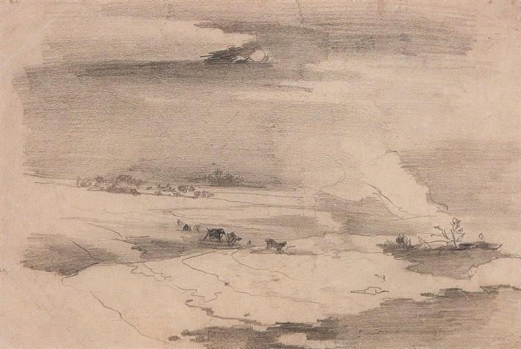 Spring landscape, 1880 - 1890 - Alexei Kondratjewitsch Sawrassow