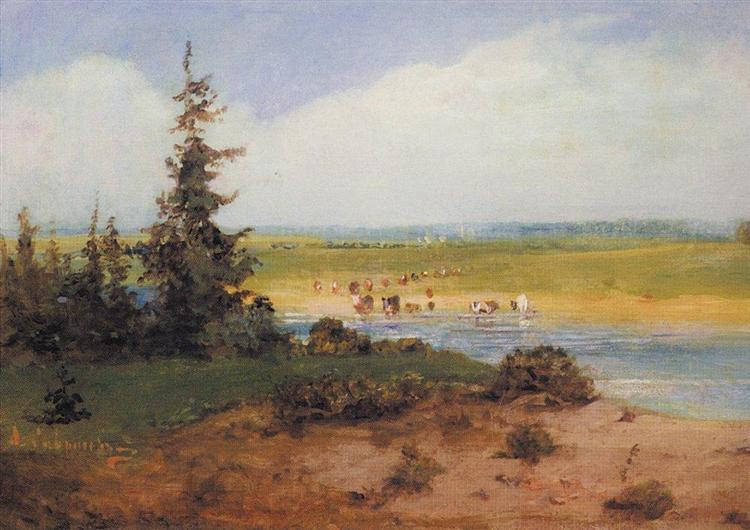 Summer Landscape, 1850 - Aleksey Savrasov