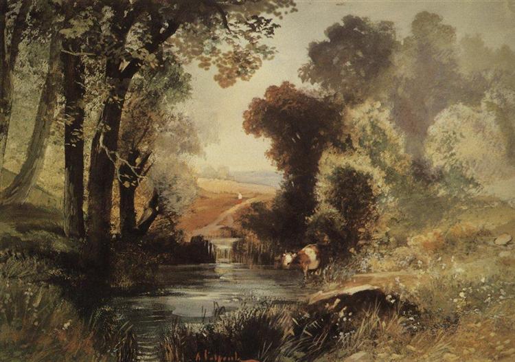Summer Landscape, 1860 - Aleksey Savrasov